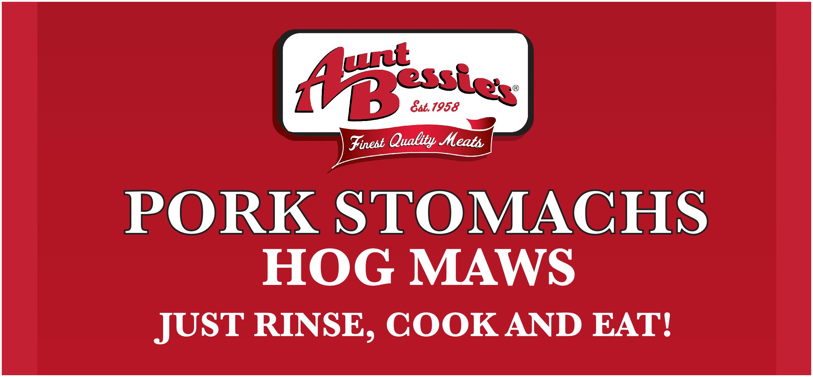 Aunt Bessie's Pork Stomachs